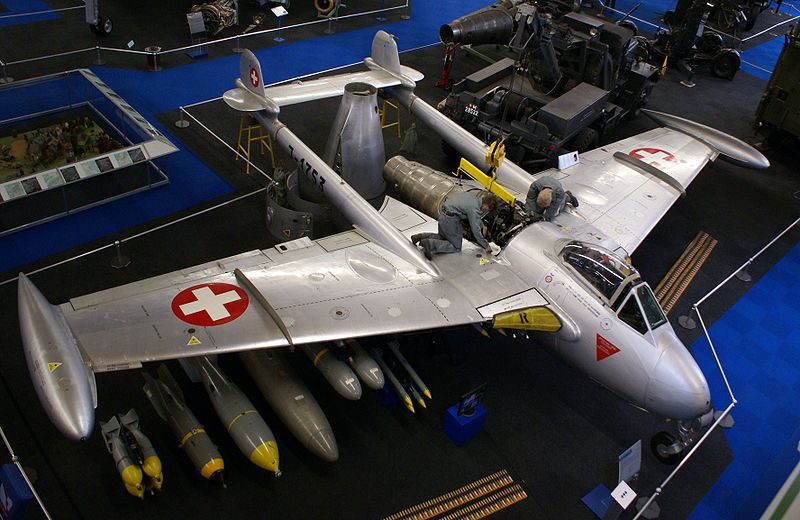De Havilland DH-112 Venom FB.4 suisse
