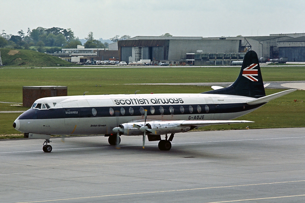 Vickers 630 Viscount (Type 802)