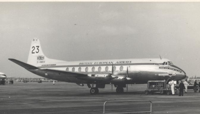Vickers 630 Viscount - Prototype Vickers 700