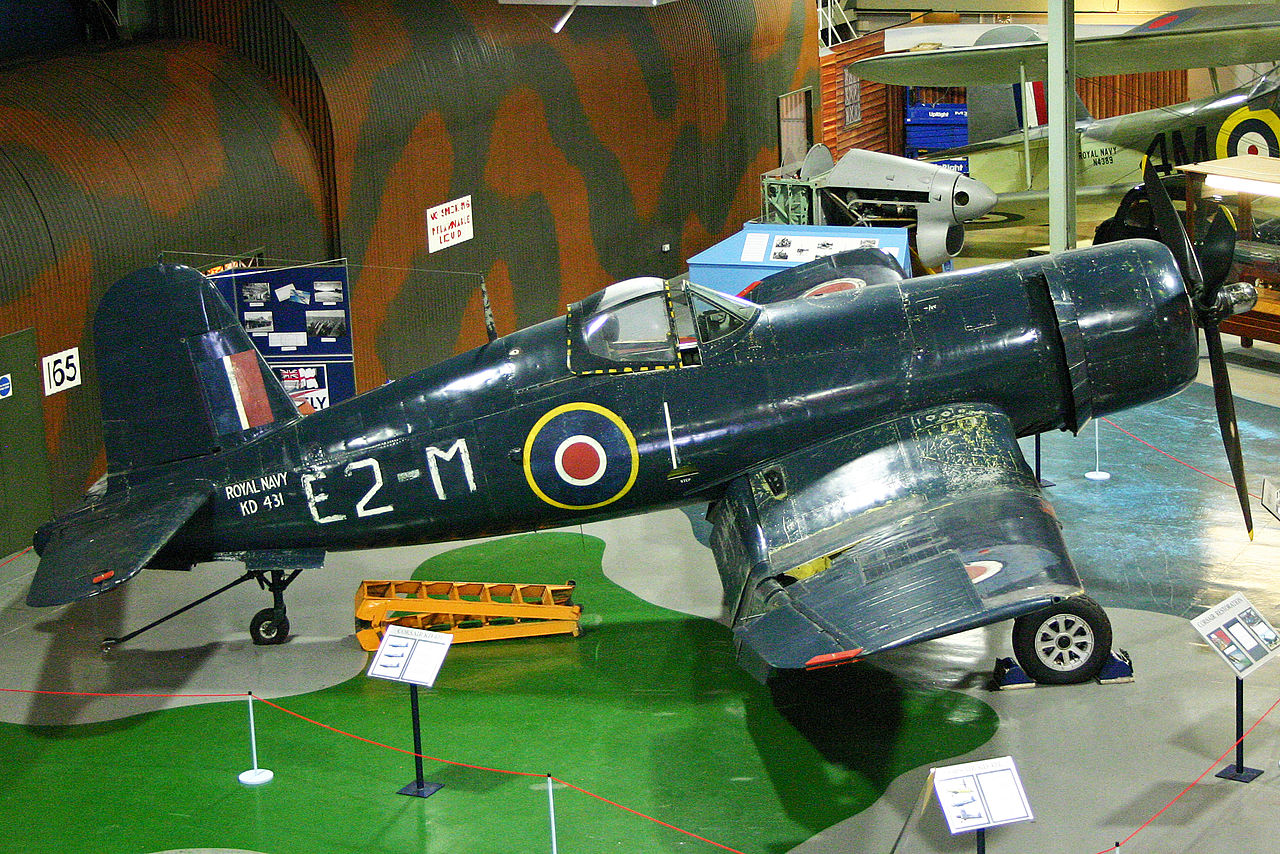 Vought F4U Corsair (FG-1D Corsair IV) de la Royal Navy