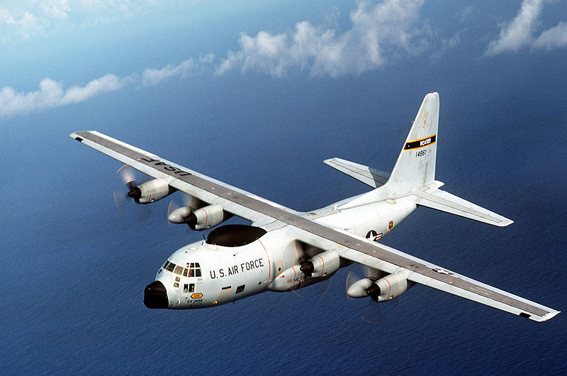 Lockheed WC-130H de l'USAF en vol