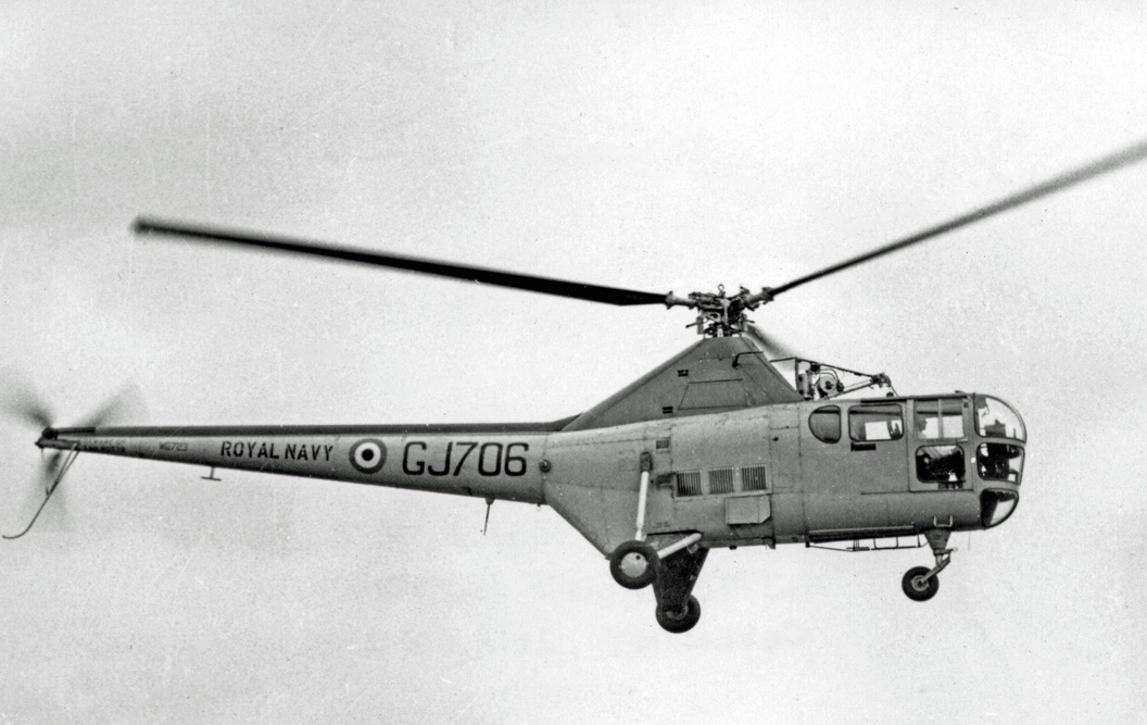 Westland WS.51 Dragonfly HR.3 de la Royal Navy en vol