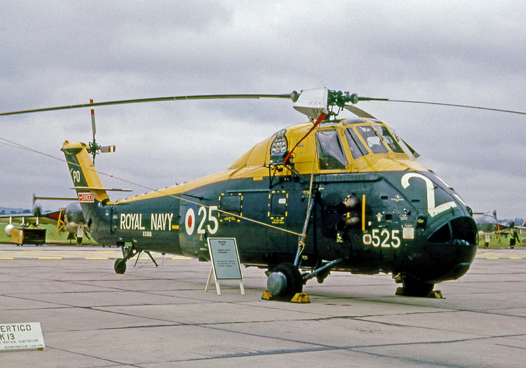 Westland WS.58 Wessex HAS.1 de la Royal Navy