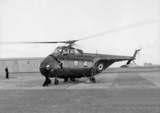 Sikorsky H-19 Chickasaw (Whirlwind HAR.21) de la Royal Navy