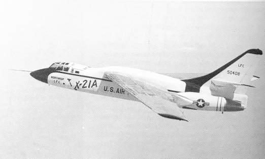 Northrop X-21A en vol