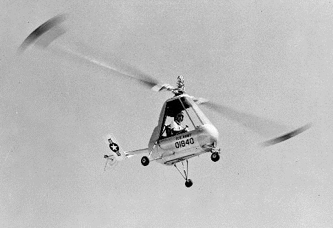 American Helicopter H-26 (XH-26) en vol
