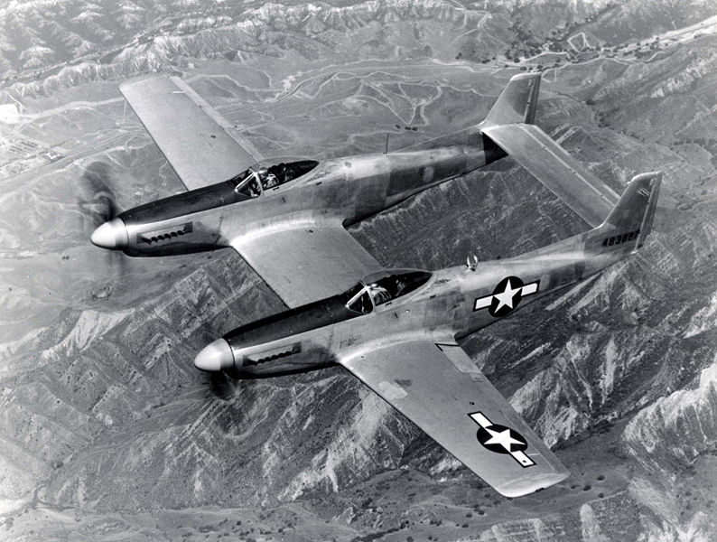 North American F-82 Twin Mustang - Prototype XP-82