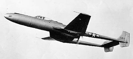 Vultee XP-54 Swoose Goose en vol