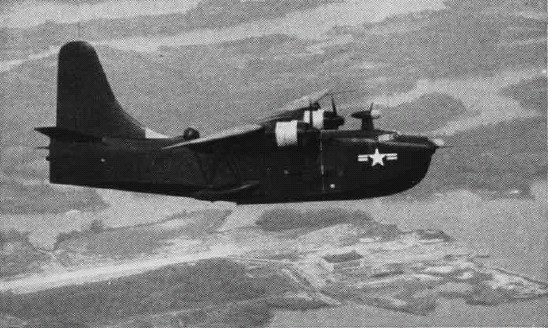 Martin XP5M-1 Marlin en vol