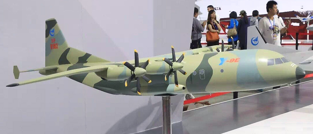 Shaanxi Y-9E - Maquette