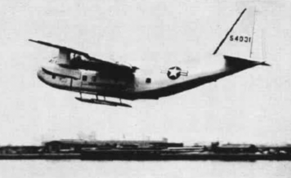 Fairchild YC-123E Provider au décollage
