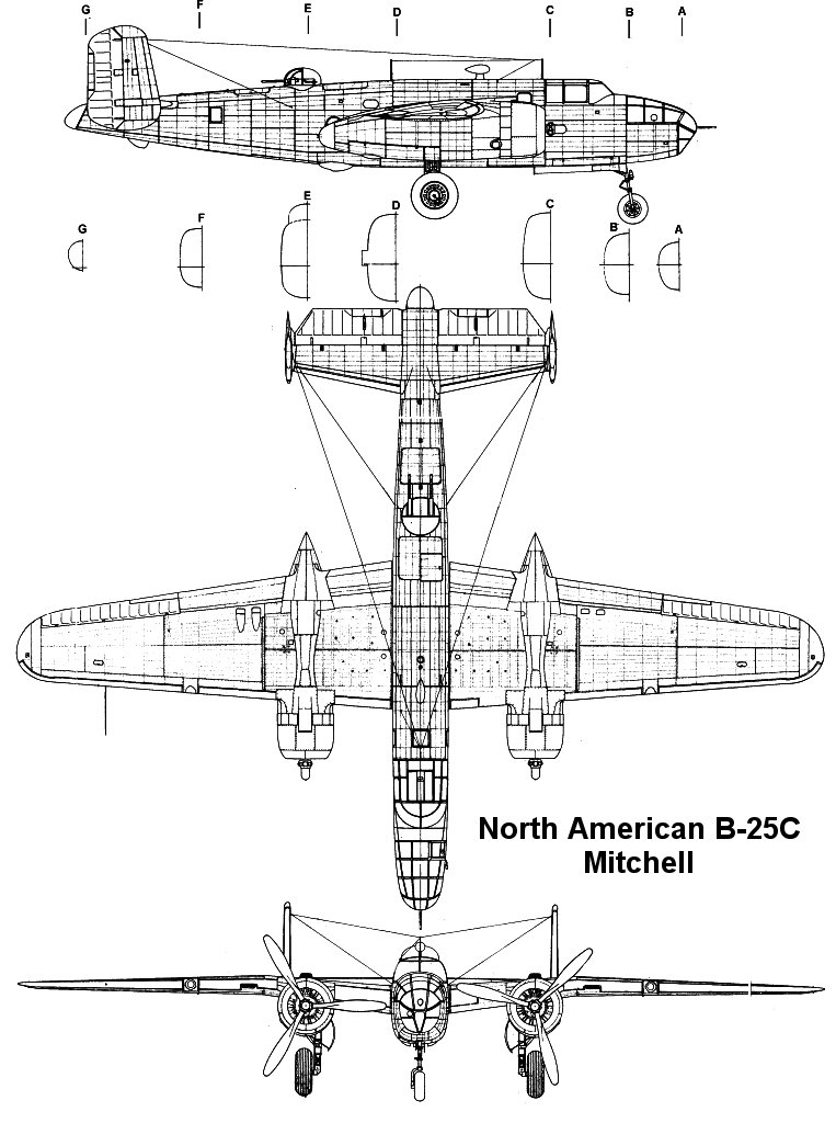 North American B-25C Mitchell
