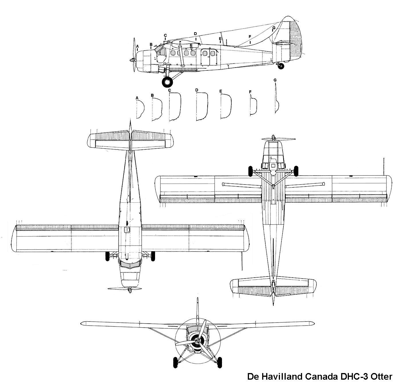 Aviationsmilitaires Net  U2014 De Havilland Canada Dhc