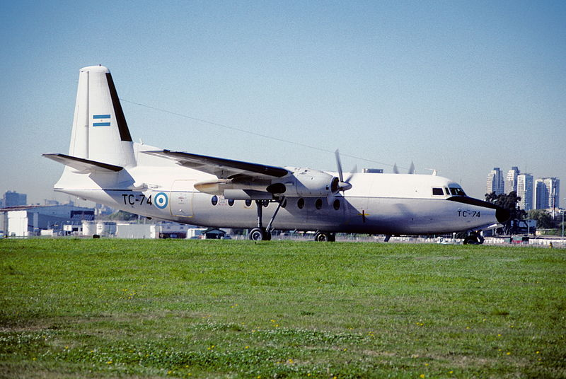 Fokker F27-400M Friendship argentin