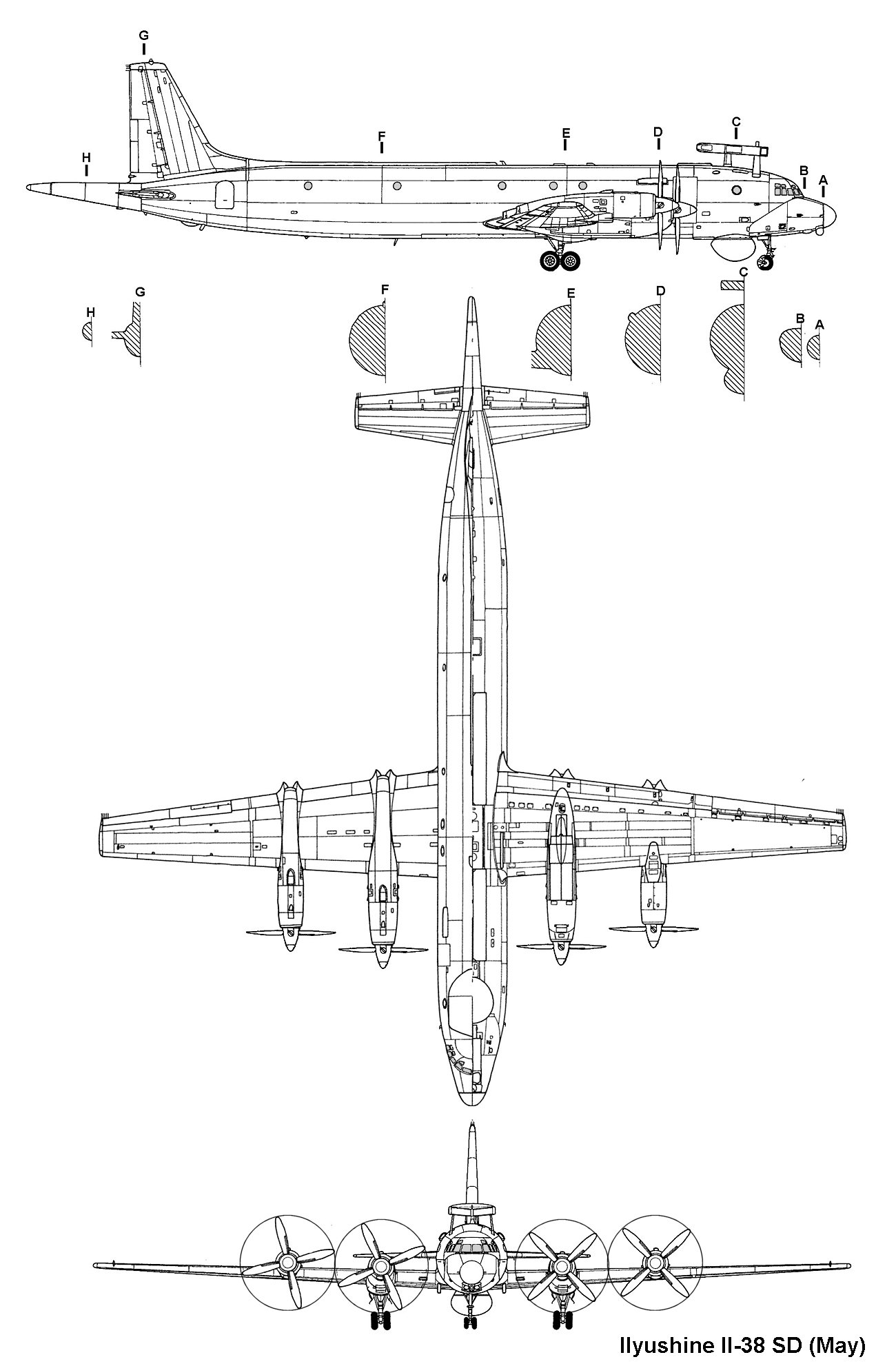 Iliouchine Il-38SD May