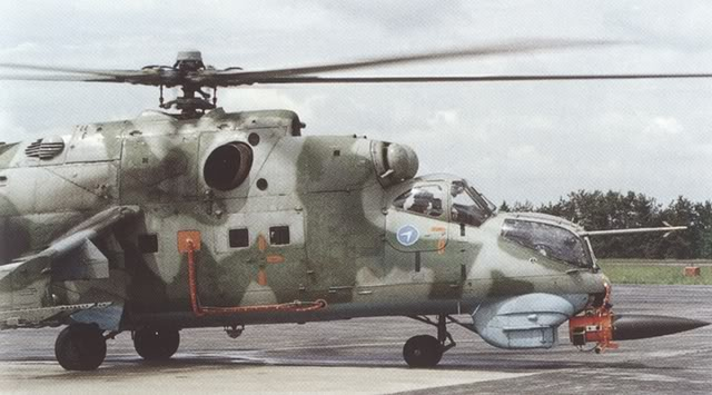 Mil Mi-24 Ecological Survey Version