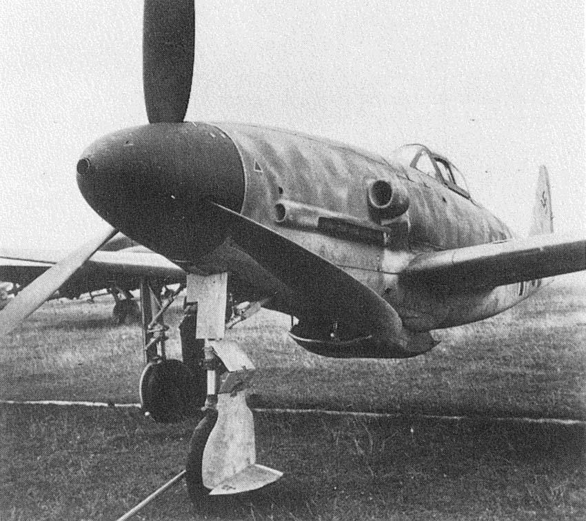 Luftwaffe 46 et autres projets de l'axe à toutes les échelles(Bf 109 G10 erla luft46). - Page 20 Me309-2