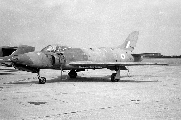 Supermarine Swift F.4 de la RAF