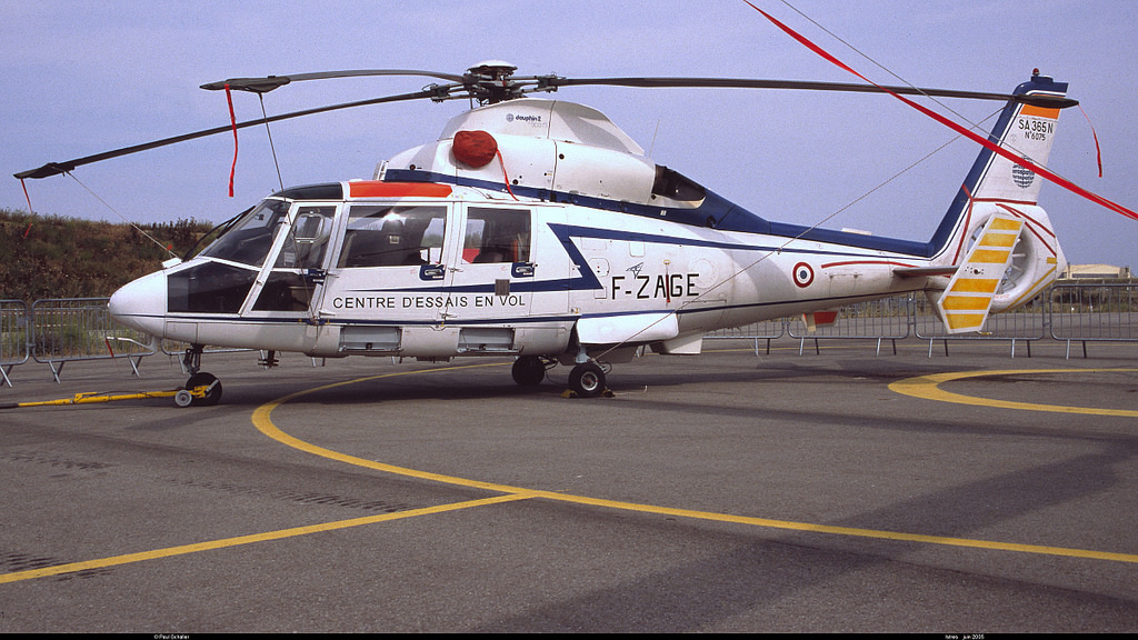 Aérospatiale AS365 N Dauphin 2 du CEV