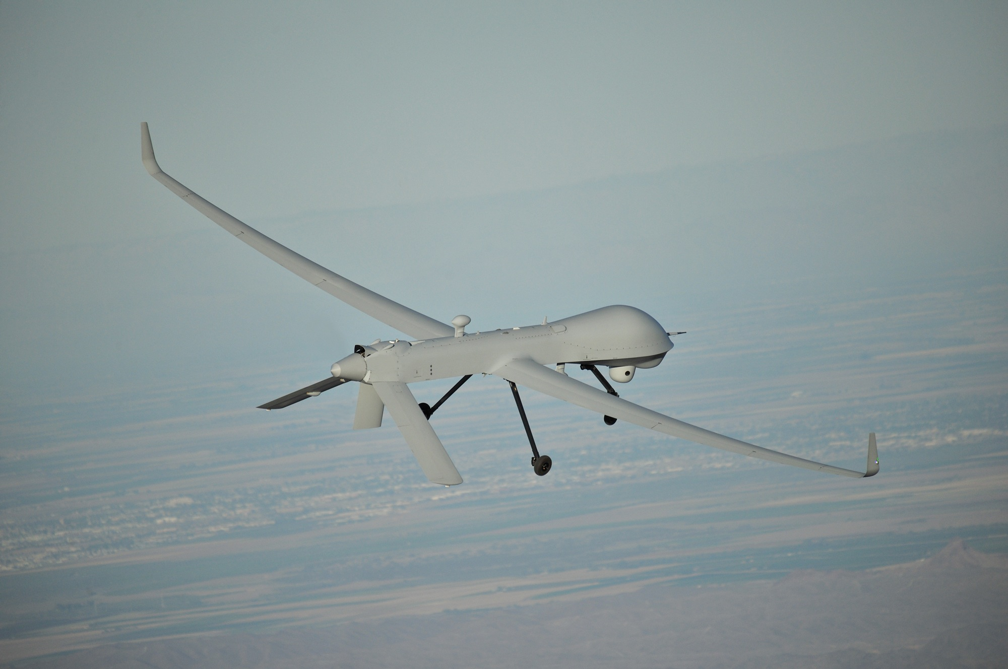 General Atomics Predator XP en vol