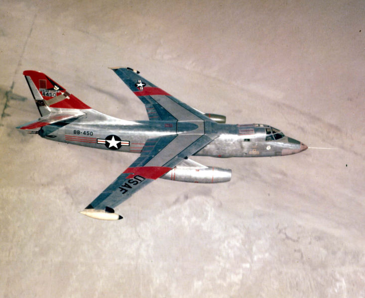 Douglas B-66 Destroyer (RB-66C) de l'USAF en vol