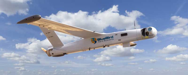 BlueBirds Aero Systems ThunderB en vol