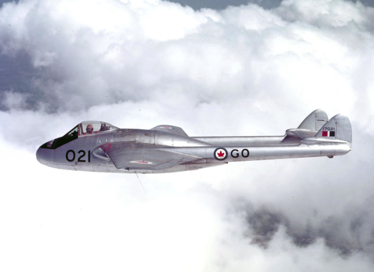De Havilland DH-100 Vampire F.3 canadien