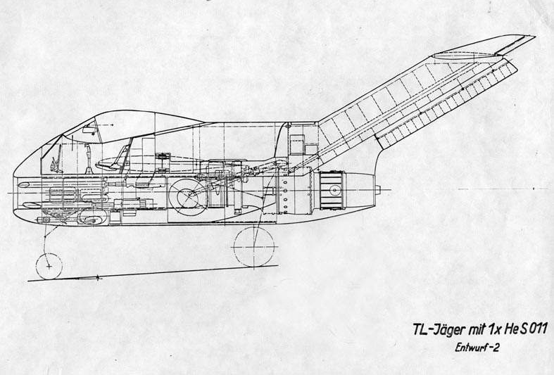 Focke-Wulf Ta 183 Design II - Document original 3