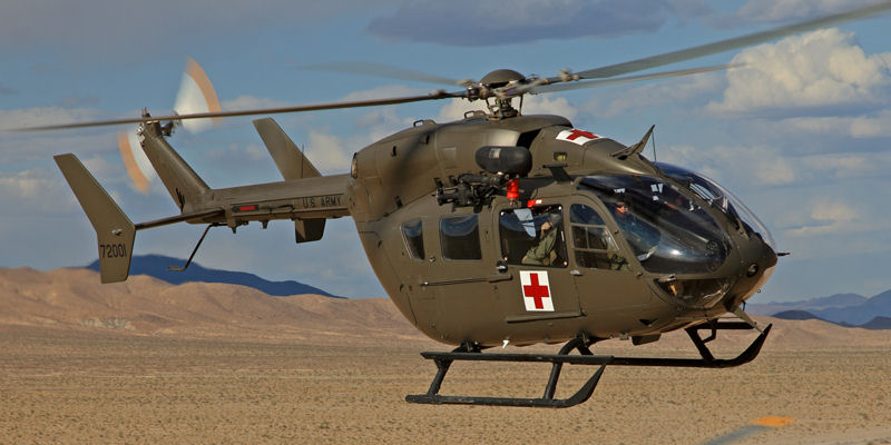 Eurocopter EC145 (UH-72A) de l'US Army