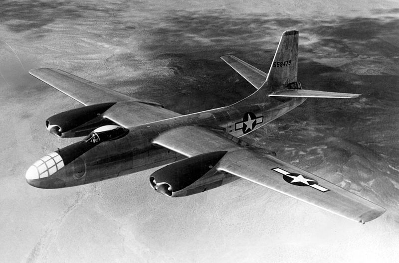 North American XB-45 Tornado en vol