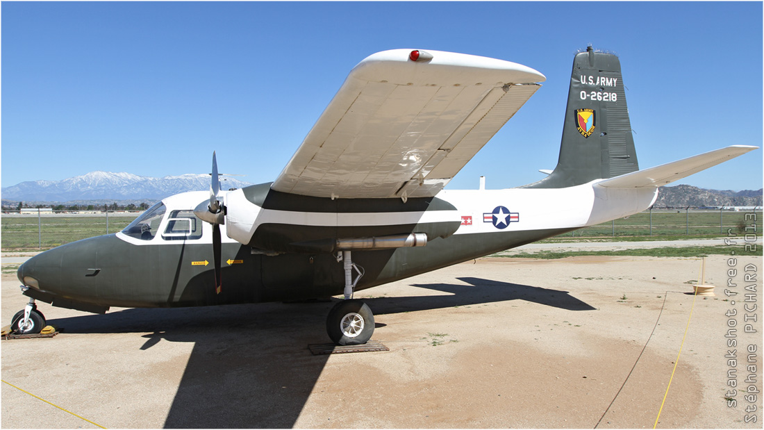 Aero Commander YU-9A de l'US Army