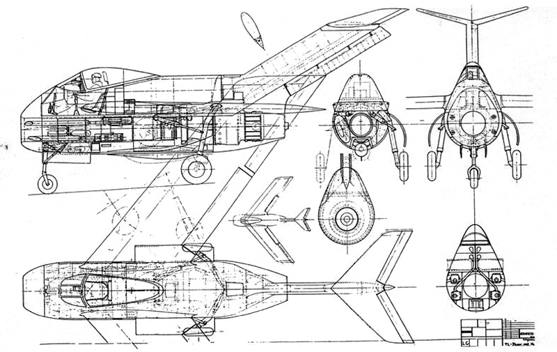 Focke-Wulf Ta 183 Design II - Document original 5