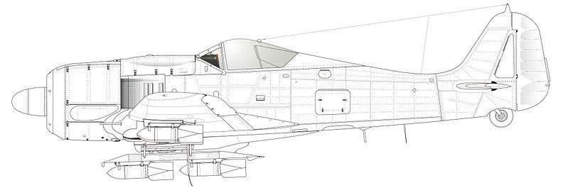 чертежи большой модели fw 190 хорошие большое разрешение