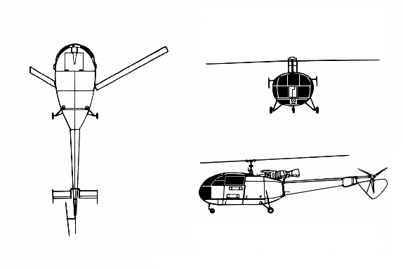 Sud-Aviation SA 316 Alouette III