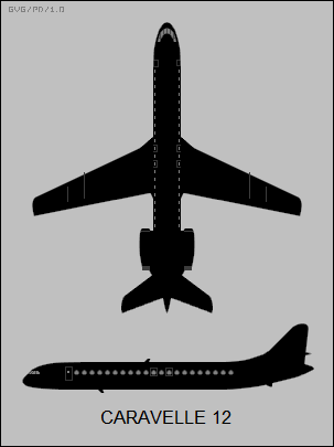 Sud-Aviation SE-210 Caravelle 12