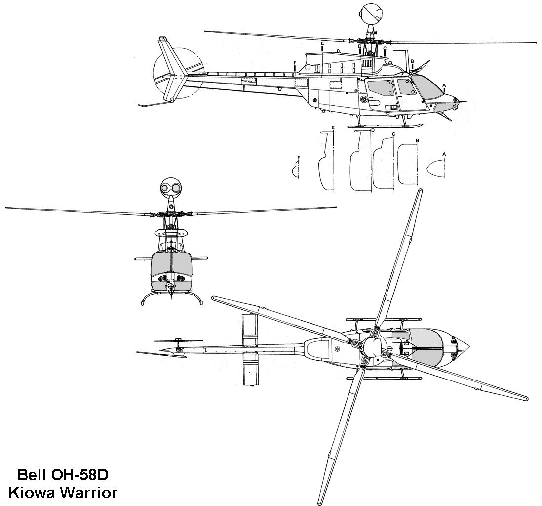 Bell 206 (OH-58D Kiowa Warrior)