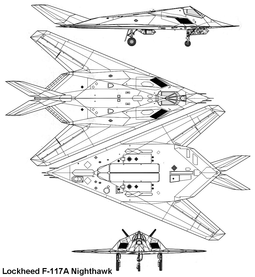 Lockheed F-117A Night Hawk