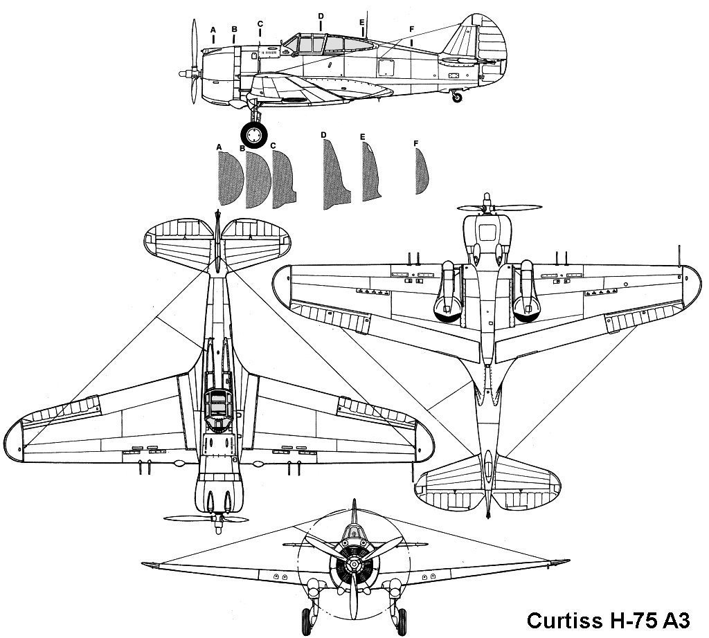 Curtiss P-36 (Hawk 75A-3)