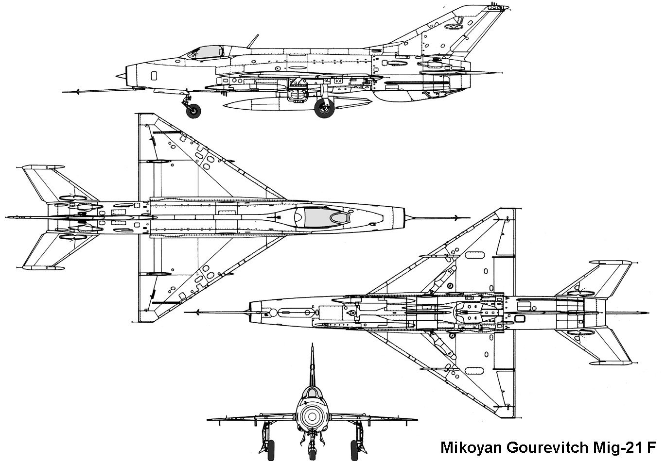 Mikoyan-Gourevitch MiG-21F-13 Fishbed