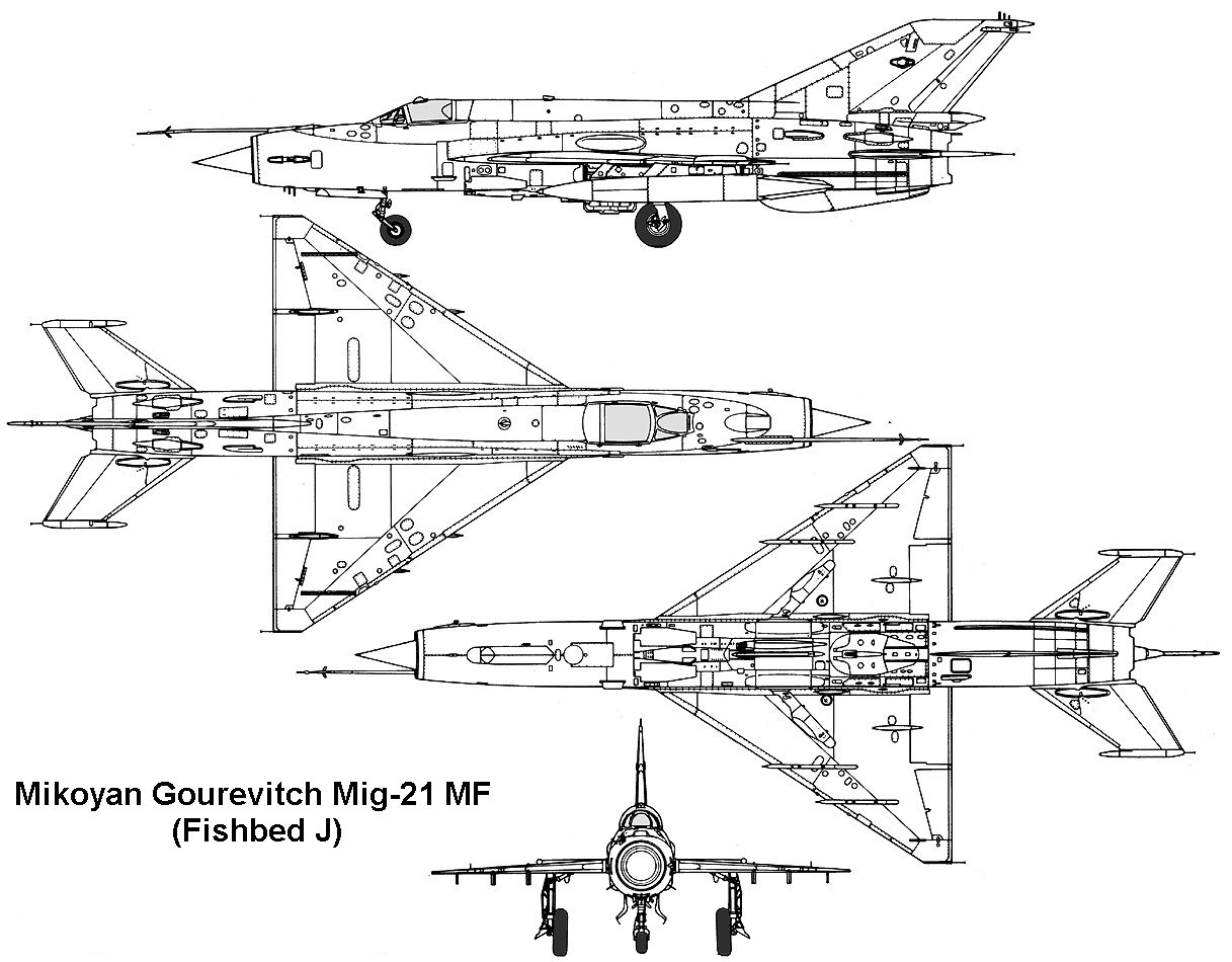 Mikoyan-Gourevitch MiG-21MF Fishbed-J