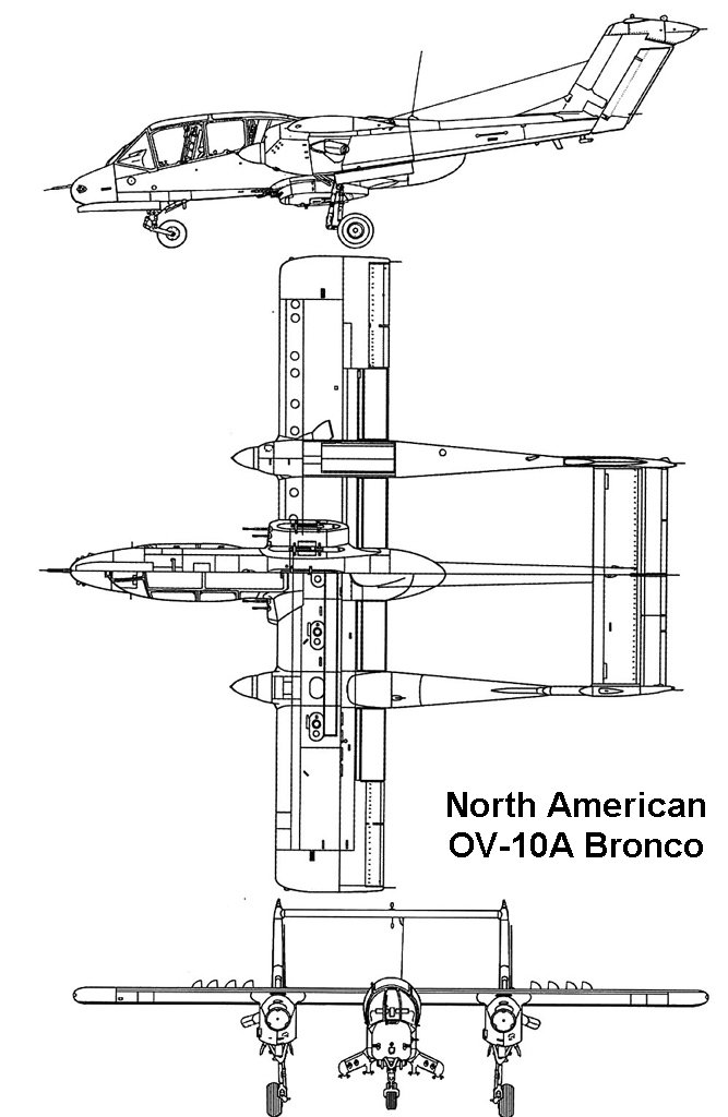 North American OV-10A Bronco