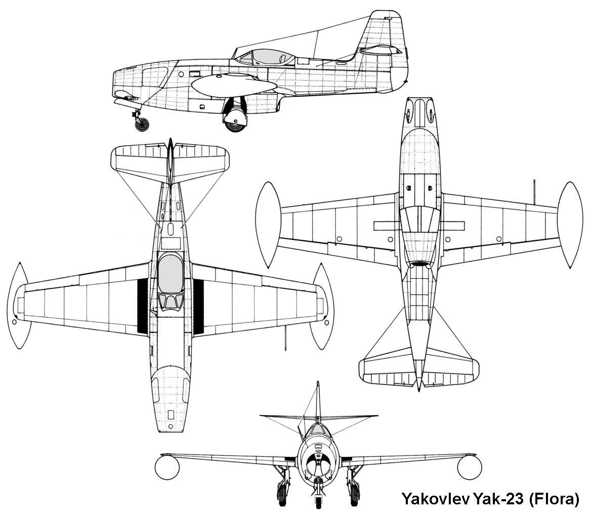 YAKOVLEV - avioni konstruktora Jakovljeva Yak23_3v